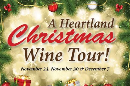 A Heartland Christmas.Heartland Christmas Wine Tour Susquehanna Valley